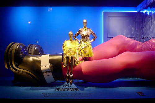 Vitrines Kenzo loves Printemps - Paris, septembre 2014
