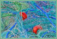 Filets turcs (GilDays) Tags: sea mer net port turkey fishing nikon asia harbour turquie antalya asie filet abstrait pche d810 nikond810