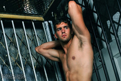 Ryan (The Dungeon) 4 (Violentz) Tags: shirtless portrait man male guy model body ryan muscle fitness physique southendbostonma patricklentzphotography