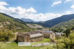 Farm complex (doublejeopardy) Tags: spain village aragon pyrenees torla otherkeywords linasdebroto