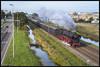 18-10-2014, Haarlem Spaarnwoude, SSN 011 075-9 (Koen langs de baan) Tags: haarlem 9 steam 01 amersfoort ssn stoom spaarnwoude 011075 hlms spoorparade