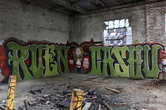 RUEN CASHU (caseykallenphotography.com) Tags: abandoned philadelphia architecture canon buildings graffiti graf pa abandon philly dashu 70d ruen philadelphiagraffiti phillygraf canon70d caseykallen stickermarkerffiti caseykallenphotography caseykallenphotographycom