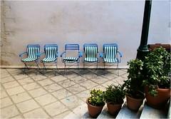 Five Chairs -   (Hindrik S) Tags: flower wall floor chairs five sony steps kreta patio greece crete 1750 20mm f80 tamron trap gouves vloer muur 160 stoelen a57 bloempot vijf kriti plaats binnenplaats iso125   trep tamron1750 sonyalpha tamronspaf1750mmf28xrdiiildasphericalif  sonyphotographing slta57 57