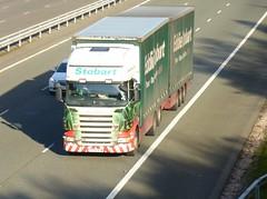 M440 - PX58 BYW (Cammies Transport Photography) Tags: rose truck megan lorry eddie flyover scania esl m74 lockerbie stobart eddiestobart r420 m440 px58byw