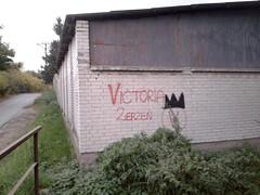 Zerze rules. (zazuzizu) Tags: city urban brick wall wow fun graffiti fan football funny respect serious poland polska supporter symbols wtf warszawa miasto znak ulica hools szacun szacunek zerze