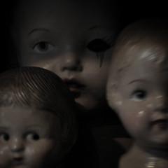 Dolls (Seeing Visions) Tags: california ca blur lensbaby square us dolls unitedstates nursery newportbeach creepy heads orangecounty oc 2014 rogersgardens missingeye raymondfujioka notyourusualstilllife