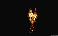 Light Bulb (Aadil Chouji Schiffer) Tags: old light lightpainting macro lamp up lightbulb closeup bulb vintage close sony sl bulbs scool filament lightlines fillament oldscool xperia sonyxperia xperiasl