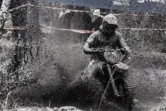 Muddy Enduro driver (Olof Nysten) Tags: canon eos is hole mud grand national sverige gotland 75300mm 6d gotlandsln ggn2014