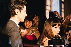 27th Tokyo International Film Festival: Koizumi Kotaro & Kanno Miho from Big Hero 6