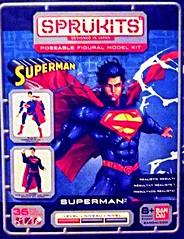 Superman Sprukit (atjoe1972) Tags: comics movie toys actionfigure dc tv model superman kit bandai manofsteel 4inches skipthefrogman atjoe1972 sprukit