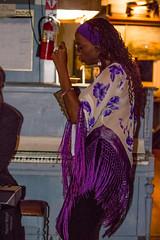 SF BoathouseWomanDancing (MarionWeigelPhotography) Tags: sanfrancisco portrait musician music usa jazz boathouse 2014 musicianportfolio jacorebaptiste livingartinsf livingmusicinsf sfmoments