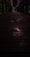 Not RedStep-4732 (icecreamshotgun) Tags: bridge taiwan footprints pentaxk50