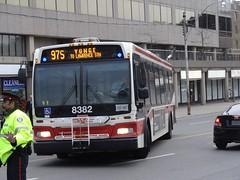 Toronto Transit Commission 8382 on 97 Yonge (Orion V) Tags: ttc