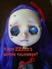 AlViRa catching some Zzz's before a busy Halloween evening!