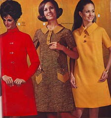 BellasHess 69 ws 3 dresses (jsbuttons) Tags: 1969 clothing mod 60s buttons womens catalog 69 sixties vintagefashion bellashess