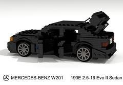 Mercedes-Benz W201 190E 2.5-16 Evolution II (lego911) Tags: auto birthday 2 car mercedes benz model lego 33 render evolution buddy ii mercedesbenz 7th mb challenge 57 evo daimler cad 190 racer lugnuts povray 84 moc ldd daimlerbenz sizematters 190e miniland w201 2516 lego911 frommildtowild lugnutsturns7or49indogyears