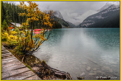 rainy lake louise 4043 (roswell433) Tags: canada alberta lakelouise banffnationalpark