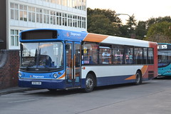Stagecoach Manchester 22361 SV55CBX (Will Swain) Tags: uk travel england west bus buses station manchester october fife britain north transport 4th greater stagecoach wigan 2014 22361 sv55cbx