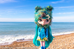 Sea blues and greens