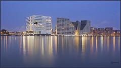 Amsterdam : IJdock. (alamsterdam) Tags: longexposure amsterdam reflections earlymorning ijdock