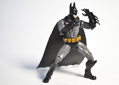 Batman Assembled!!!! (skipthefrogman) Tags: fun toy action figure batman kit bandai spru sprukits
