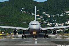 Airbus! (C McCann) Tags: france saint st airport martin air sint airbus maarten sxm a340 498 tncm fgzlo af498