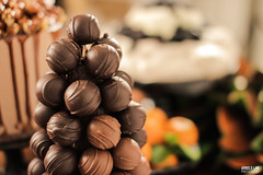 Truffle Tower! (lanarnold) Tags: tower cake sweet desserts bakery sweets behind truffle scenes petite catering