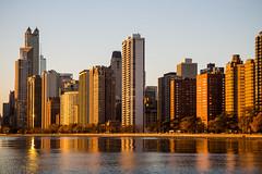 Oh Gold Coast, I get it now. (aerojad) Tags: chicago skyline sunrise lakemichigan