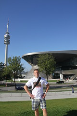 Infront of The Bmw factory and The olympia turn tower, Munchen!