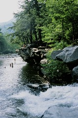 them ledges (emmylouphotos) Tags: analog 35mm waterfall vermont rivers bristolvt