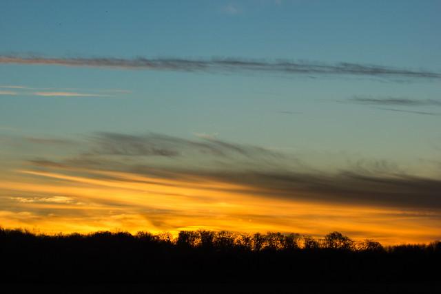 Levé de soleil - Sunrise
