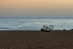 IMG_5673 (paweglad) Tags: beach bike spain mallorca mallo majorka hiszpania platjadepalma