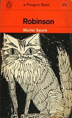 Penguin Books 2157 - Muriel Spark - Robinson (swallace99) Tags: fiction modern cat vintage penguin paperback