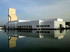Reflexo total na Doca (Américo Meira) Tags: reflection portugal lisboa lisbon reflexo pregame lisbonne edifício belém lizbona gamewinner thechallengefactory