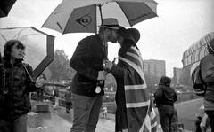 Queen Eli's Jubilee - 08 (ranzcross) Tags: street people bw white black london film photography noir elizabeth jubilee year queen diamond celebration photojournalistic