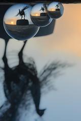 Tripple Your Luck (Rodney Campbell) Tags: bondi sunrise orb australia newsouthwales sculptures sculpturesbythesea tamarama