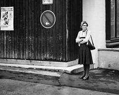 Stood-up? (s_maclately) Tags: street bw 1977 negativcolor wpsbwa wpsstreet wpsbw
