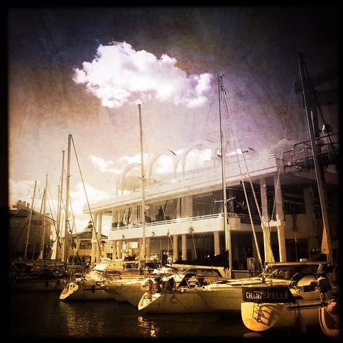 benalmadena spain costadelsol holiday seaside vacation yacht harbour cloud