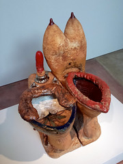 His and Hers (Eric Hunt.) Tags: sculpture art ceramic stoneware robertarneson funkart