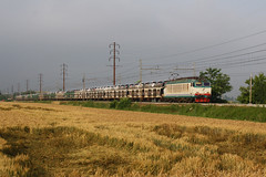 ...e auto dalla Spagna! (Maurizio Zanella) Tags: italia trains railways fs alessandria tortona trenitalia ferrovia treni e652067 euc46073