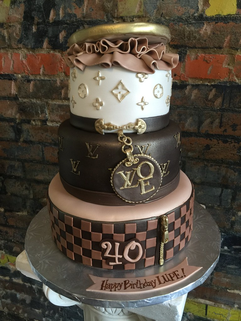 Louis Vuitton Cake Annies Culinary Creations Tags Birthday Louisvuitton Adultbirthday