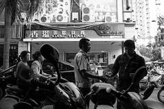 # (Tommaso Lazzaro) Tags: china travel bw white black travelling blackwhite reisen asia  yunnan xishuangbanna  x100