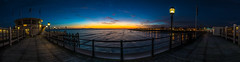 Worthing Pier panoramic (Paul M Loader) Tags: sunny worthing west sussex pier canon5dmkivmk4