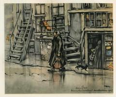 Anton Pieck- Bemin dan Amsterdam, 1948 ill   Binnen Vissersstraat (janwillemsen) Tags: antonpieck amsterdam bookillustration 19451948