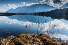 Reflective World (*Capture the Moment* (OFF till End June)) Tags: 2017 barmsee bavaria bayern berge clouds deutschland elemente germany himmel lake lakebarmsee landschaften mountains reflection reflections reflexion see sigma1181835mmart sky sonya77 sonyalpha77 spiegelung wasser water wetter wolken cloudy wolkig