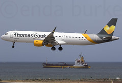Thomas Cook Airlines G-TCDD 20-3-2017 (Enda Burke) Tags: gtcdd avgeek aviation airplane av8 aero avp airport arrival airbus apron engine engines evening runway travel takeoff taxiing taxiway planes plane pilot landing landingear holiday holidays flightdeck flight fly flying departure canon canon7dmk2 cockpit tcx thomascook thomascookairlines a321 airbusa321 gcrr ace espana es spain canaryislands lanzarote