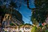 upside down mix up (mariola aga) Tags: vegas lasvegas hotel buildings trees palmtrees water bottom upsidedown mixup reflection abstract thegalaxy