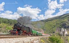 Eliseyna (cossie*bossie) Tags: bdz 4603 eliseyna iskar gorge steam locomotive bulgarian state railways passenger train 2124 h cegielski poznan