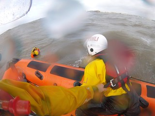 Casualty recovery from the water