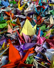 Origami Paper Paper Art Colors Full Frame Large Group Of Objects Paper No People Backgrounds Close-up Day Indoors (Cesc Camí) Tags: origami paper paperart colors fullframe largegroupofobjects nopeople backgrounds closeup day indoors